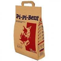 (з) Pi-Pi-Bent Classic комкующийся наполнитель для кошачьего туалета Классик (пакет) 10кг.