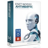 ESET ПО NOD32 Антивирус+Bonus+р.ф.