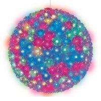 Uniel Подвесной светильник «Шар с цветами сакуры» d=27см (09577) ULD-H2727-300/DTA RGB IP20