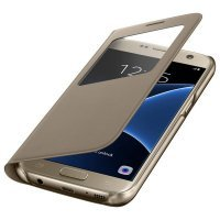 Samsung S View Cover S7 Gold (EF-CG930PFEGRU)