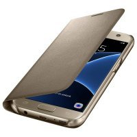 Samsung LED View Cover S7 Gold (EF-NG930PFEGRU)