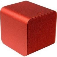 NuForce Cube Speaker red